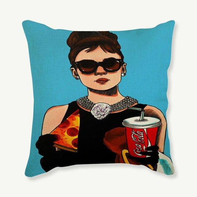 Pop Art Cushion Cover 2