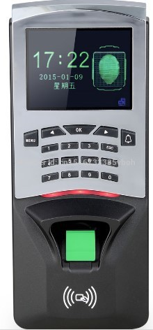 F807 Biometric Building Management System Biometric Fingerprint Access Control and Time Attendence Security System for Door gprs real time fingerprint access guard tour system