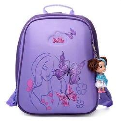 Ruso marca delune mochila alumno niños niñas mochila mariposa duro Shell protección cresta nuevo diseño especial mochila