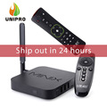 EN la ACCIÓN! s905 minix neo u1 android tv box amlogic quad core 2g/16g 802.11ac 2.4/5 GHz WiFi H.265 HEVC 4 K Ultra IPTV Smart TV Caja