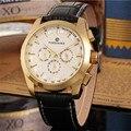 2016 marca de luxo FORSINING homens dia mecânico automático data semana relógio de pulso analógico homens pulseira de couro relógio de luxo