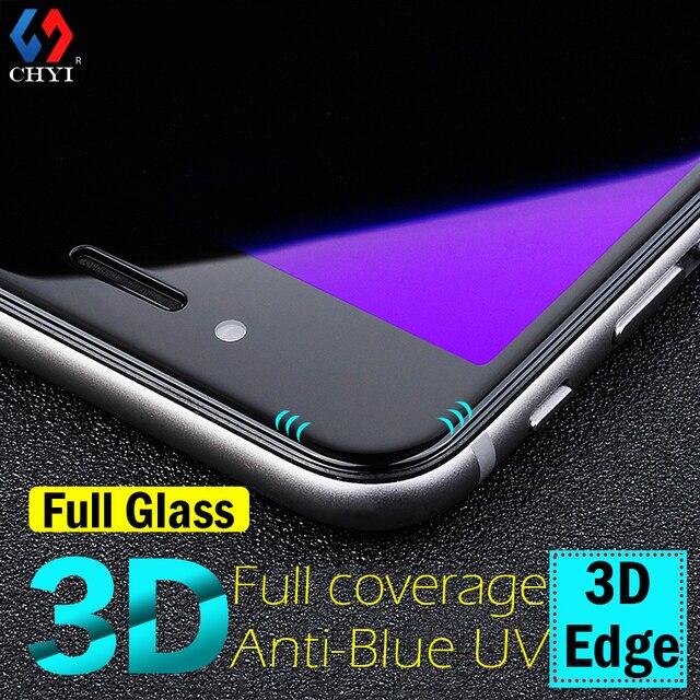 """Для iphone 6 закаленное стекло iphone 6 протектор экрана для iphone6s 3D Роскошные анти-синий луч стекло пленка iphone6 4.7 """"крышка для экрана"""