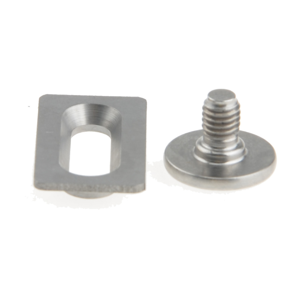 Titanium Ti Bolts Spacers for Shimano SPD SL Pedal Cleat SM SH10 11 12 in Bicycle Pedal from Sports Entertainment