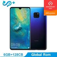 Глобальный Rom huawei Коврики 20 6G 64G оригинальный мобильный телефон 4G LTE Octa Core 6,53 Android 9,0 2244*1080 4000 mAh отпечатков пальцев ID NFC