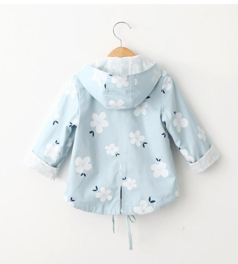f8e0a561f Girl Jacket Baby Girl Windbreaker 2017 Spring Children Clothing ...