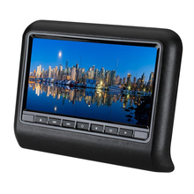 Car head pillow screen 9 inch high definition LCD screen plug in type head DVD display