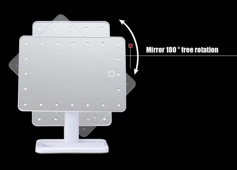 led mirror 10
