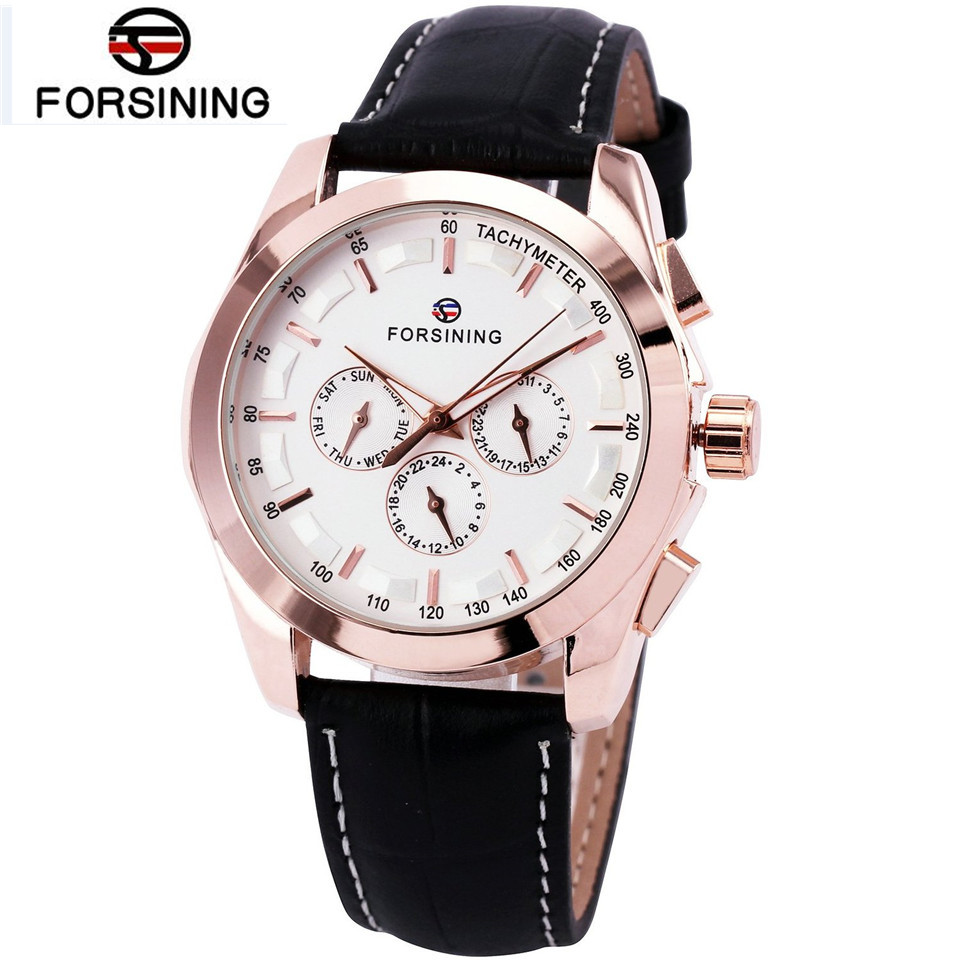 2017 montre femme marque de luxe forsining watches men 39 s mult functional automatic mechanical. Black Bedroom Furniture Sets. Home Design Ideas