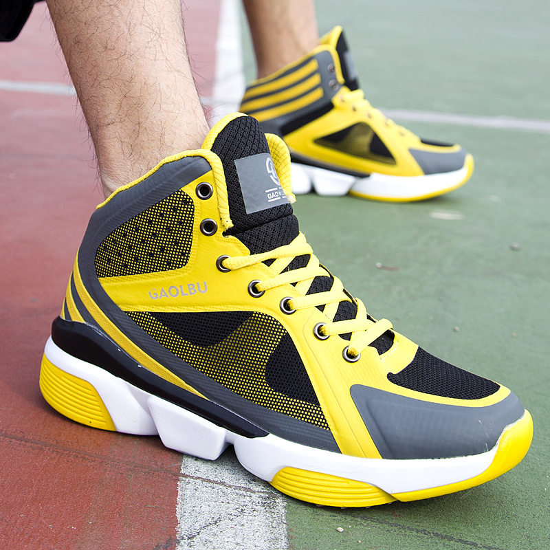 Basketball ShoesMen wear breathable shoe combat boots high student trainers and breathable wear sneakers  V7R0KSR47