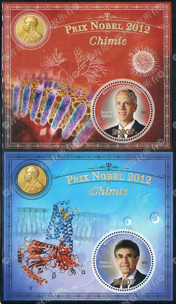TE0231 Mali 2013 Nobel prize 2012 annual Chemistry Award winner 2M new 1116 how to teach pronunciation cd