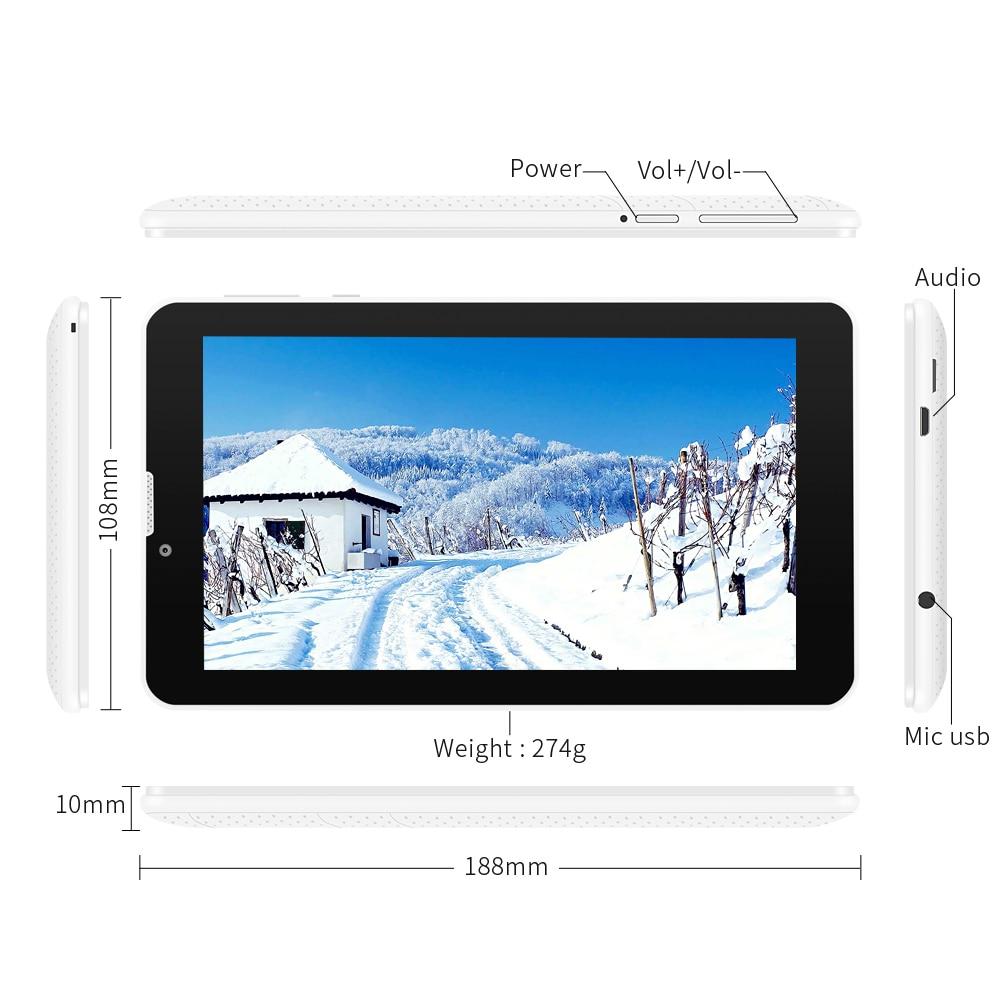 Hot 3g Phablet Yuntab 7 ιντσών E706 Tablet PC 1GB + 8GB - Υπολογιστής ταμπλέτα - Φωτογραφία 5