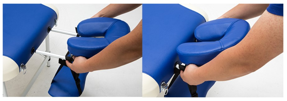 Adjustable Folding Massage Table With Bag Made Of PVC leather And Aluminum Alloy Leg 21
