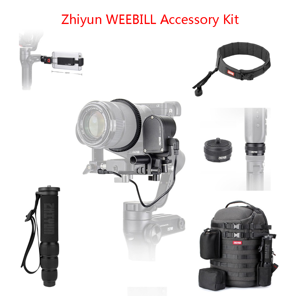 Zhiyun weebill LAB Servo suivre Focus monopode support pour téléphone Kit d'accessoires pour Zhiyun weebill LAB stabilisateur de poche