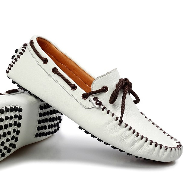 Aliexpress.com : Buy 2015 Spring leather lace boat shoes ...