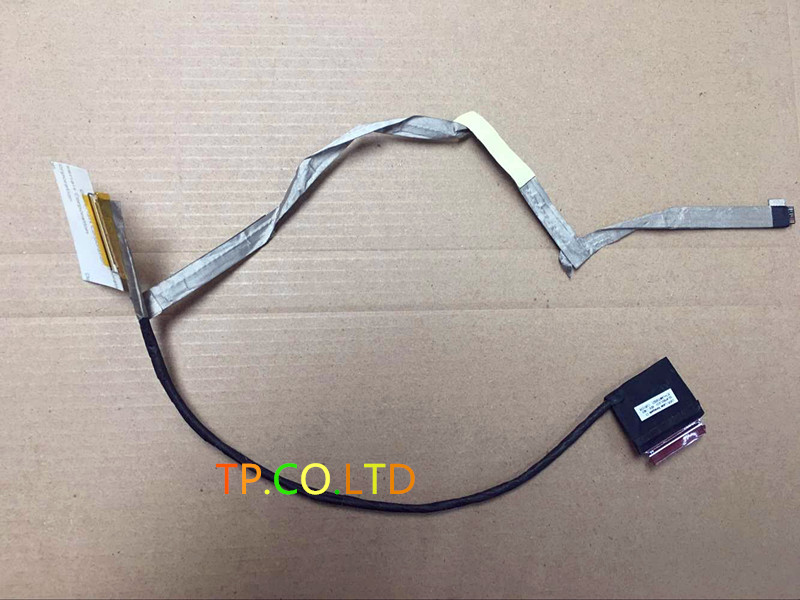 NEW For HP Probook 450 450G1 LED LCD LVDS SCREEN VIDEO FLEX CABLE 50.4YX01.001 Genuine New Free Shipping