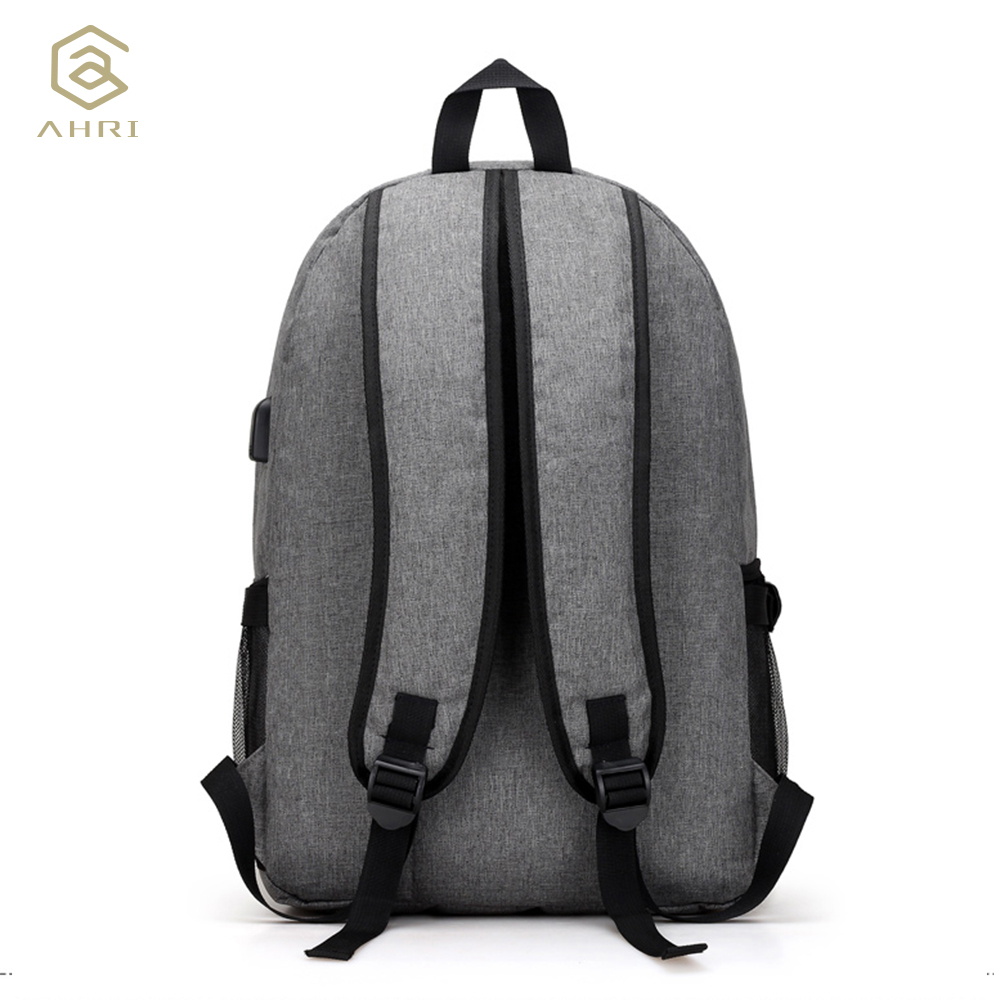 AHRI USB Unisex Design Backpack Book Bags for School Backpack Casual Rucksack Daypack Oxford Canvas Laptop Fashion Man Backpacks 3