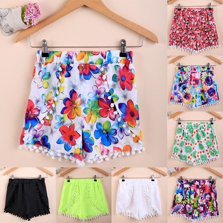 Beach Tassel Casual Colorful Mini Hot   Shorts   Irregular   Shorts   Women Fashion