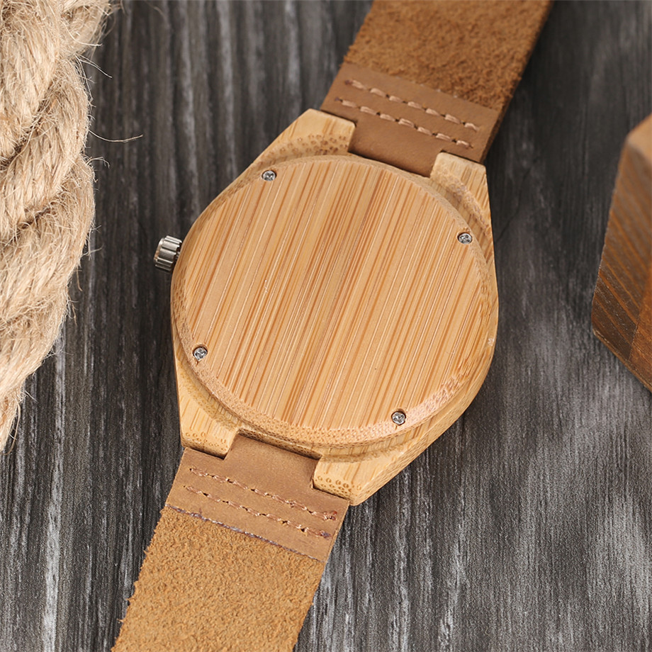 Boho Style Wooden Watch Women Creative Elephant Carving Dial Nature Wood Case Novel Gift Casual Wristwatches relogio masculino (15)