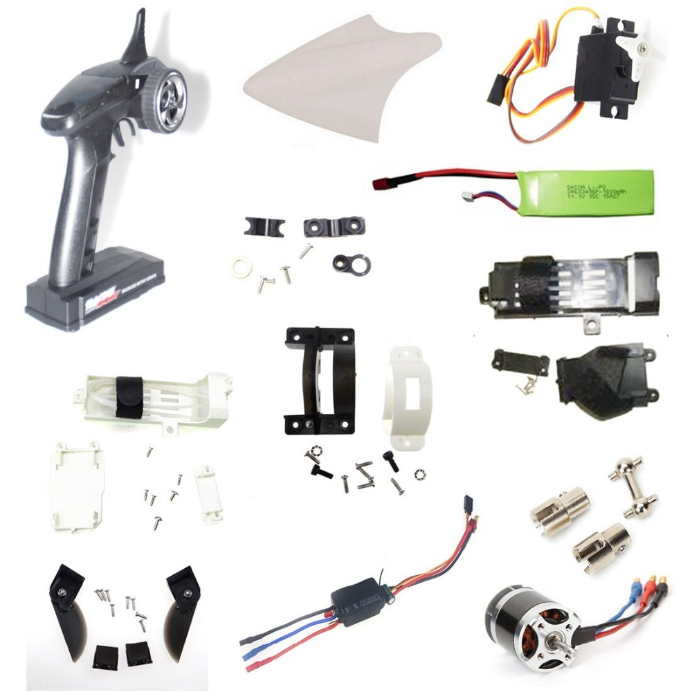FT012 Upgraded FT009 2.4G Brushless RC Racing Boat Spare Parts Replacement Components F15584