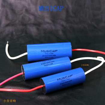 1lot/2pcs American original MusiCap 0.68uf-15UF 100V speaker divider capacitor axial capacitor free shipping цена 2017