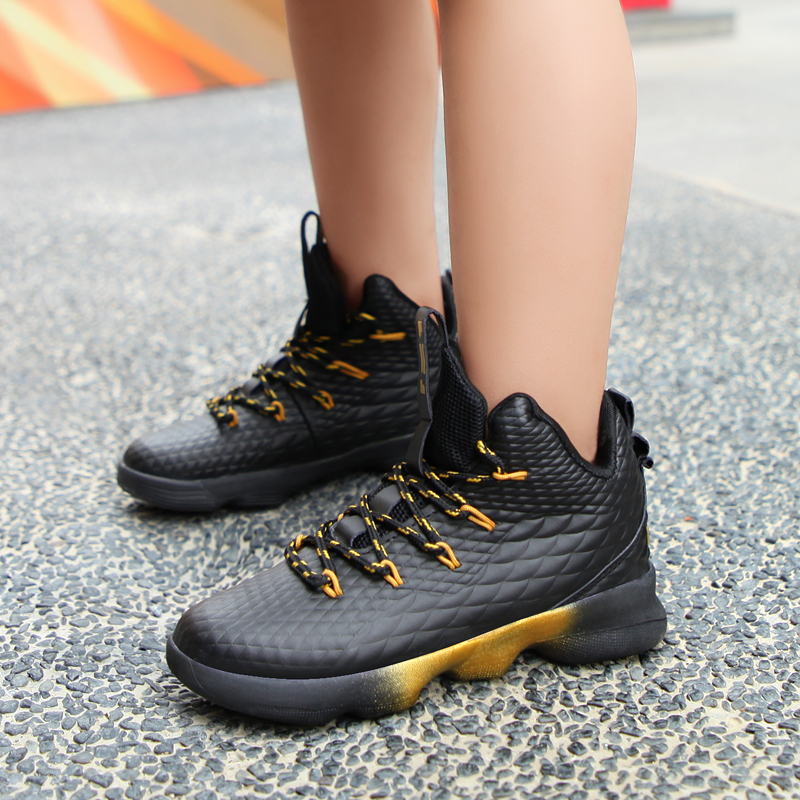 Basketball-Shoes Trainers Athletic Lebrones Outdoor Girl Boys Kids Children Sport-Air-Ultras