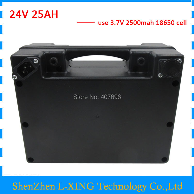 Free customs fee battery 24V 25AH li-ion battery 24 V 25AH Electric bike battery with waterproof Case 30A BMS with 3A Charger free customs taxes lithium battery 72v 25ah 26650 li ion battery pack 72v 25ah 3500w rechargeable lithium ion battery with bms