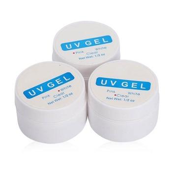 UV gel na nechty – 3 farby