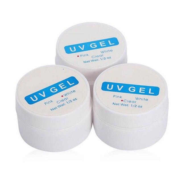 UV สำหรับเจลสำหรับยืดเล็บเจลสำหรับเล็บ UV GEL Builder เล็บเคล็ดลับเจล UV Construtor ภาษาโปลิชคำเล็บ ZJJ024