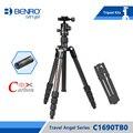 Benro C1690TB0 Штатив Из Углеродного Волокна Гибкий Штатив Для Камеры B0 Шаровой Головкой Сумка Максимальная Нагрузка 8 кг DHL Бесплатно доставка
