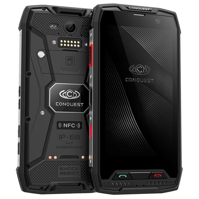 Conquest S11 Smartphone 5.0 IPS Screen Android 7.0 MTK6757 Octa Core 6GB RAM 64GB ROM 4G Waterproof 7000mAh Walkie Talkie NFC