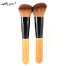 Professional Makeup Brushes Set 2pcs Multipurpose Brushes For Face Makeup Round+Angled