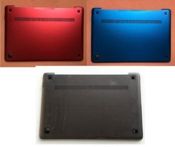 New  For Lenovo Ideapad U410 Base Cover Bottom Lower Grey 90202462 Red 90202569 Blue 90200805 new original for lenovo ideapad 500 15 500 15acz 500 15isk bottom base cover lower case white