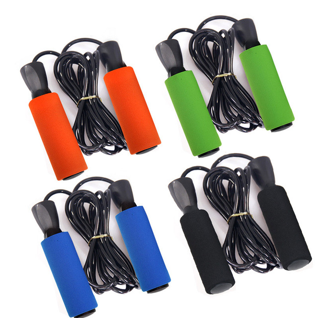 Fitness Skipping Rope Speed Jump Rope Soft Handle Boxing Exercise Workout Gym Accessories shop BB55