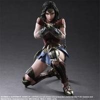 Play Arts KAI Batman v Superman Dawn of Justice No.4 Wonder Woman PVC Action Figure Collectible Model Toy 26cm