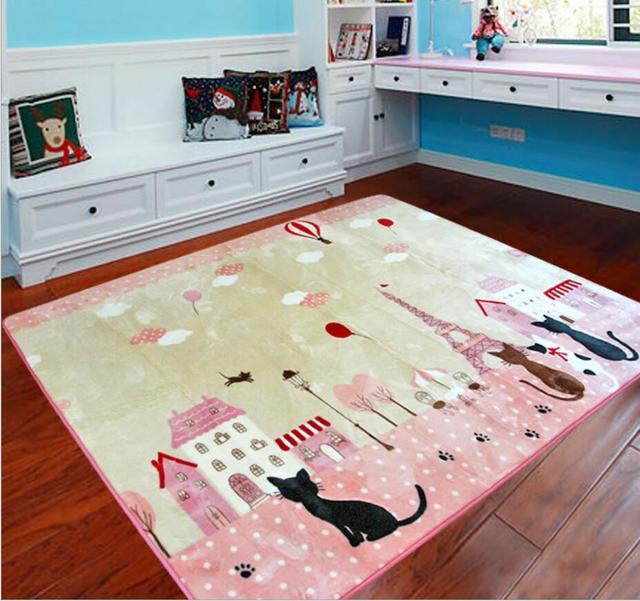 Chwalebne 200X240 cm duży kot dzieci Cartoon dywan dziecko mata dla YM52