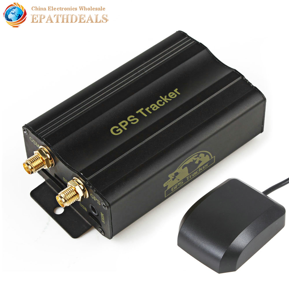 Global Real Time Auto Car GPS Tracker Vehicle Tracking System Device GSM GPRS SMS 4 Bands   Movement Speed Alert-in GPS Trackers from Automobiles & Motorcycles    1