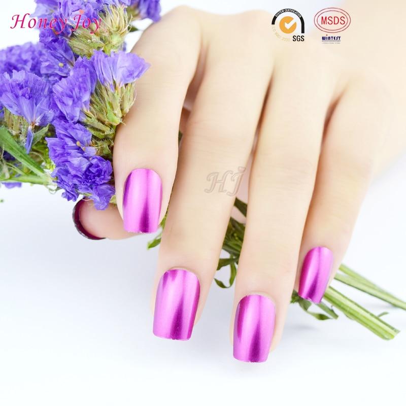 Miel Alegría 1 unid Púrpura Efecto Metálico de Color Empapa de Clavo ...