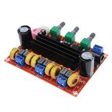 hot deal buy tpa3116d2 2.1 high power digital audio amplifier dc12-24v 2*50w+100w tpa3116 subwoofer speaker stereo amplifiers board