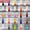 Mcoser 16 цветов женщин с прямые косплей синтетический лолита ну вечеринку полный парик