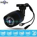 Hiseeu ahdh 1080 p ahd cctv analógico câmera de visão noturna de alta definição de vigilância câmera de segurança ao ar livre plug and play ahbd12