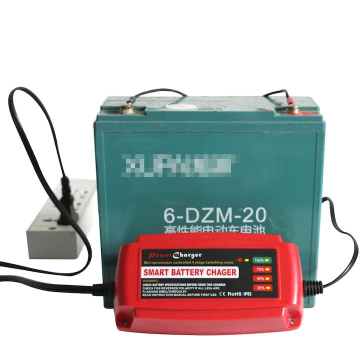 Waterproof <font><b>12V</b></font> 5A Car <font><b>Battery</b></font> Charger Maintainer &#038; <font><b>Desulfator</b></font> Smart <font><b>Battery</b></font> Charger for AGM GEL WET <font><b>Batteries</b></font> EU/AU/UK/US Plug