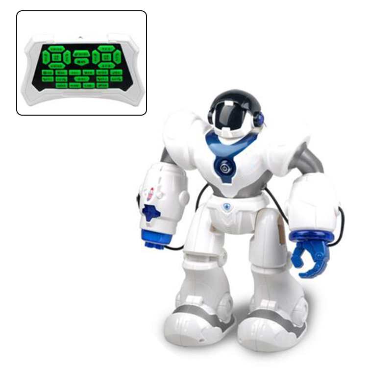 Programmable Defender Intelligent RC Remote Control Toy Dancing Singing Walking Robot for Kids Birthday Holiday Gift Present