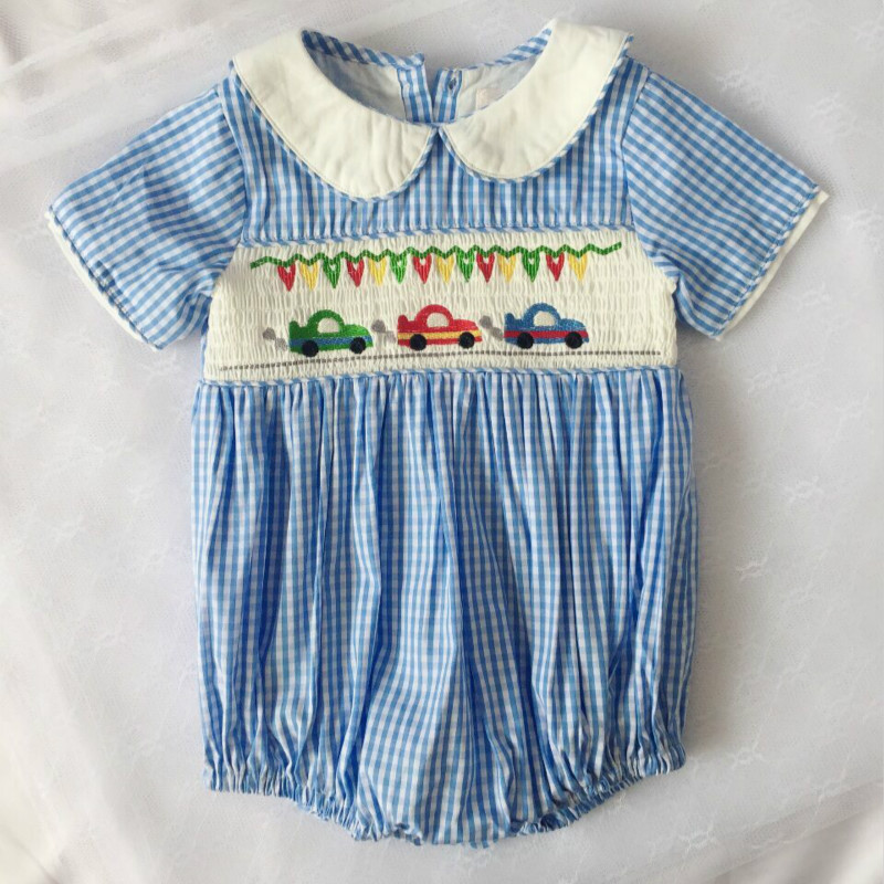 Spanish Classic Cotton Quality Baby Rompers Summer Single -3191