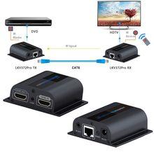 NOUVEAU LKV372Pro 1080 P HDMI Extender Avec Boucle et IR Répéteur Câble Over Ethernet Cat5e/6 jusqu'à 60 M RJ45