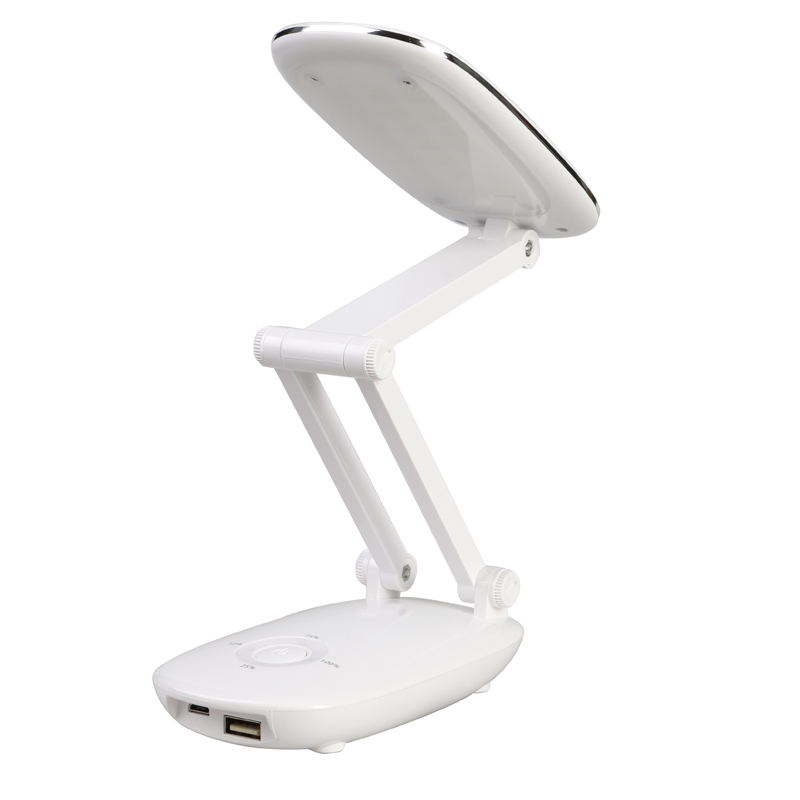 Duration Power 6000mAH 21 LED Lamp Bead Foldable Eye Protection Dimmable USB Adjustable Reading Study Book Table Desk Lamp Light