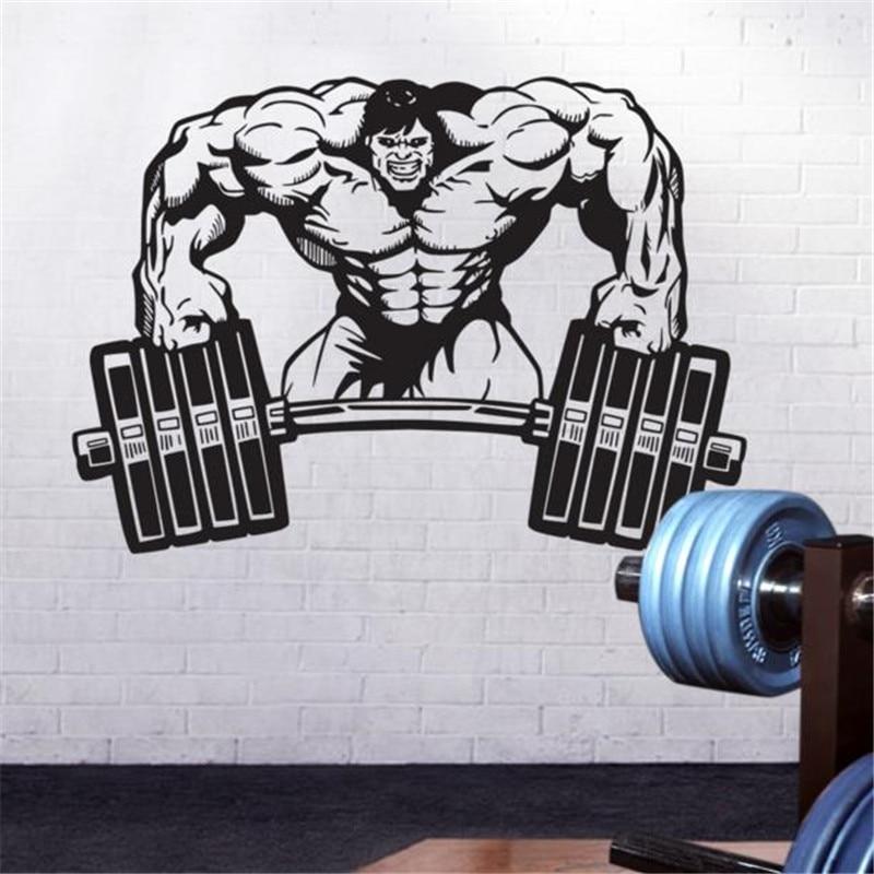 Bodybuilding Decals Weightlifting Decal Healthy Fitness DECALS BUY 2 GET 1