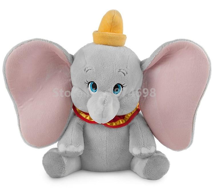 New Dumbo Elephant Plush Toy Doll 35cm Cute Stuffed Animals Soft Kids Toys Dolls for Baby