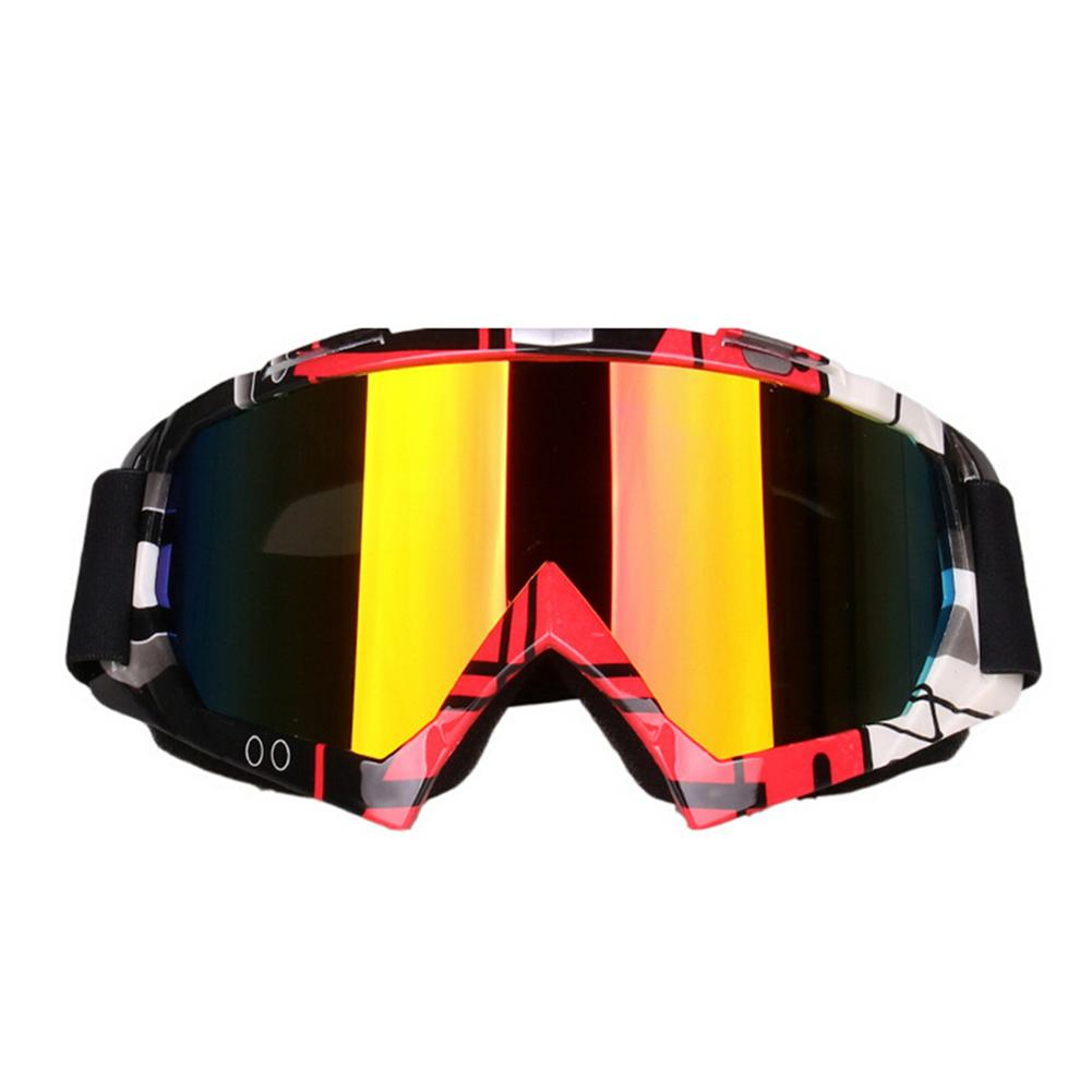 2018 New Motocross Goggles Cycling MX Off Road Helmet Sport Ski For Dirt Bike Motorcycle Racing Goggles