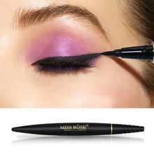MISS ROSE Brand Liquid Black EyeLiner Waterproof Quick Dry Pencil Long lasting Eye liner Natural Makeup Tools недорого