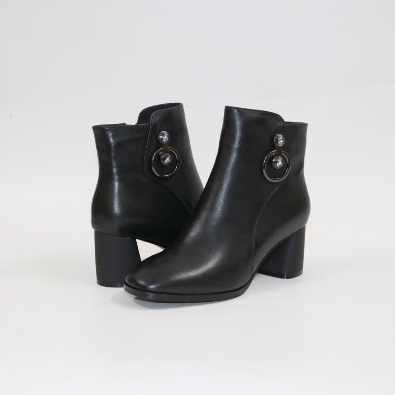 Bottes à talons hauts bottes en cuir de haute qualité bottes à talons hauts confortables pour femmes
